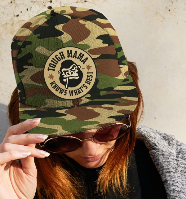 Tough Mama 'Knows What's Best' camp cap